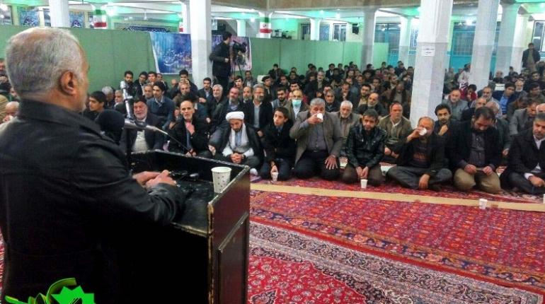 سخنرانی دکتر حسن عباسی در مسجد امام خمینی (ره)