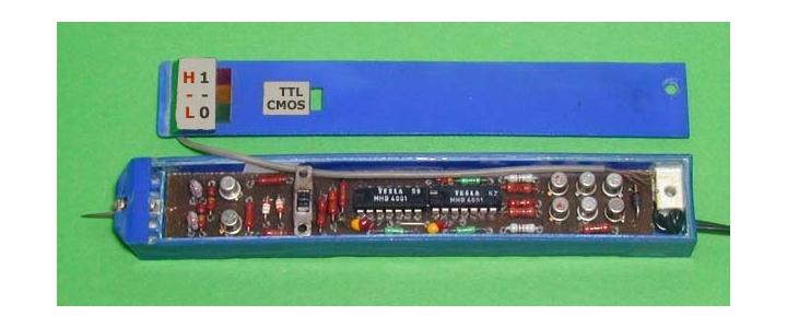 پروژه لاجیک پراب تراشه های  TTL,CMOS