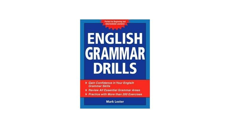 دانلود کتاب تمرین های گرامر انگلیسی English Grammar Drills