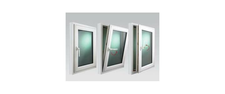 در پنجره دو سه جداره یو پی وی سی دو حالته وین تک