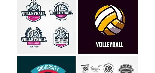دانلود تصاویر وکتور بازی والیبال، توپ، تور