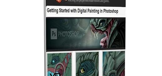 آغاز به کار با نقاشی دیجیتال در فتوشاپ