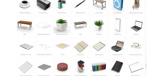 دانلود 166 تصویر لایه باز اشیاء و ابزار محیط کار، لوازم التحریر، میز، صندلی، تلفن و ...