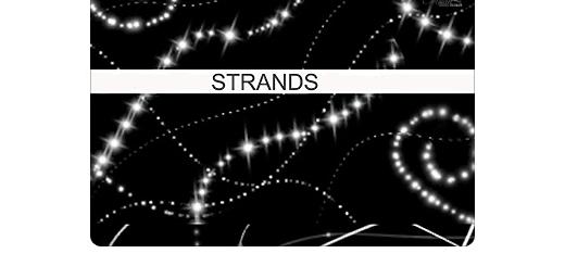 ایجاد رشته نورانی، ستاره، نقطه نورانی