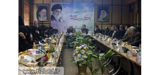 جلسه هماهنگی برنامه های مدارس متوسطه تیزهوشان (سمپاد) شهر تهران برگزار شد