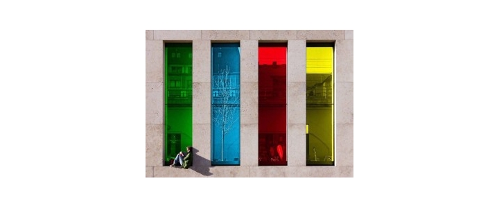 شرکت بهترین پنجره دوجداره با شیشه رنگی