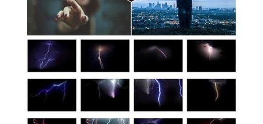 دانلود 25 تصویر لایه باز رعد و برق، آذرخش