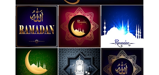دانلود تصاویر وکتور پس زمینه های اسلامی ماه مبارک رمضان