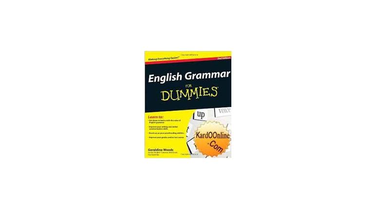 یادگیری آسان گرامر با English Grammar For Dummies