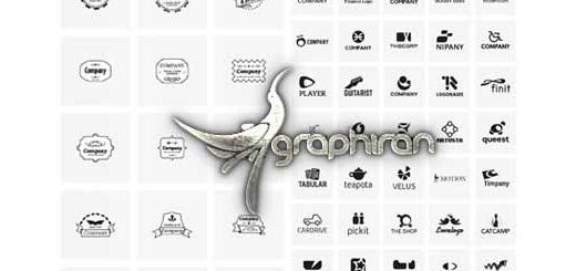 دانلود مجموعه ۶۰۰ طرح لایه باز لوگو و المان های مورد نیاز