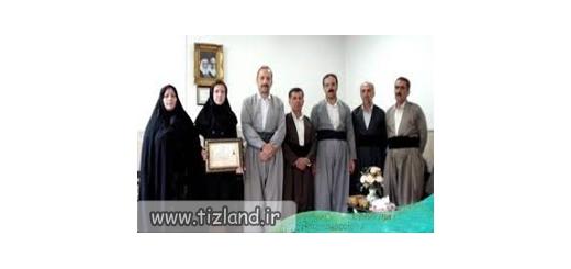 تقدیر مدیر کل آموزش و پرورش کرمانشاه از دانش آموز کرمانشاهی