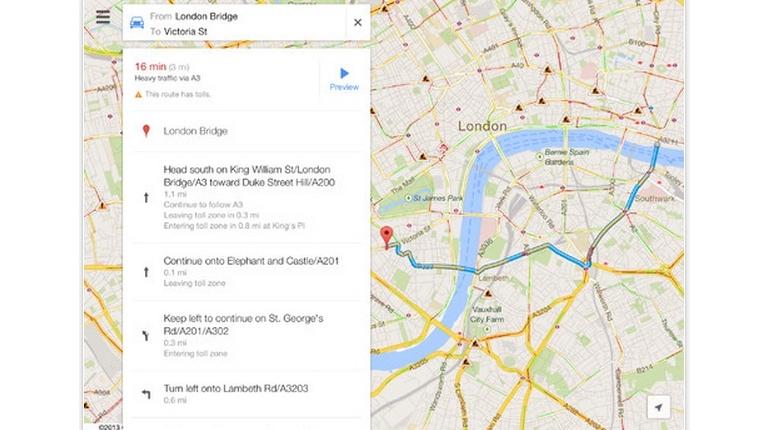 Google Maps 2.0: نسخه جدید و بازطراحی شده نقشه گوگل برای iOS با پشتیبانی از آیپدها