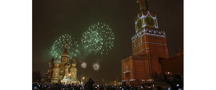 جشن آغاز سال۲۰۱۵ میلادی در سراسر جهان