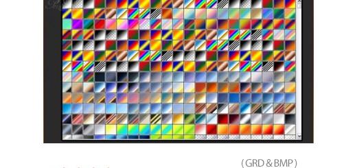 دانلود 10000 گرادینت متنوع فتوشاپ - 10000 Gradients For Photoshop
