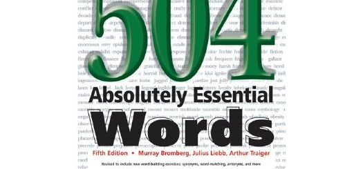 Essential Words for the TOEFL- Lesson 7