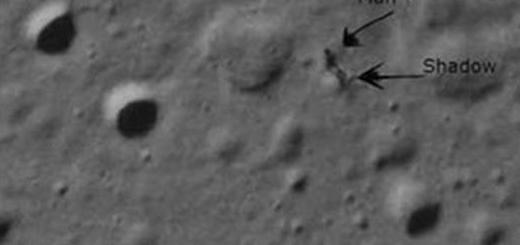 مشاهده سایه روی ماه + مختصات گوگل ارث