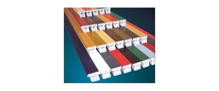 انواع پنجره دوجداره رنگی