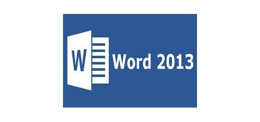 آموزش ورد 2013