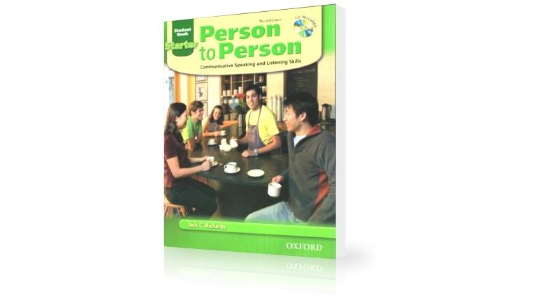 دانلود کتاب مکالمه زبان انگلیسی Person to Person سطح Starter