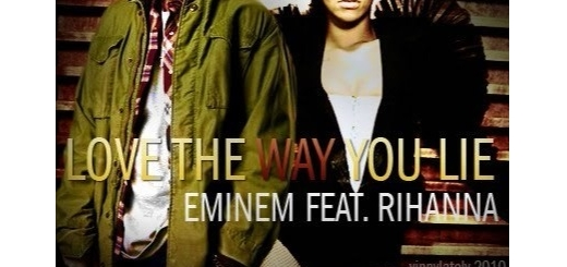 متن و دانلود آهنگ Love the Way You Lie از Eminem ft. Rihanna