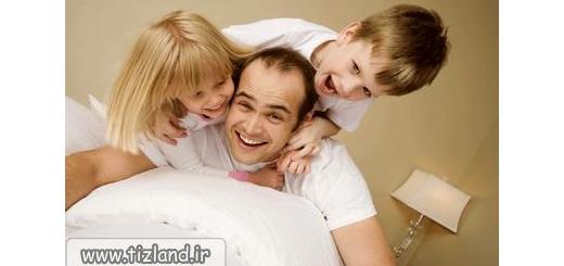 این رفتار جالب پدران، ذهن فرزندان را رشد می دهد