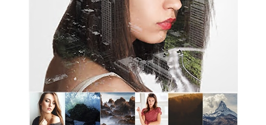 دانلود اکشن فتوشاپ ترکیب چند عکس با یکدیگر