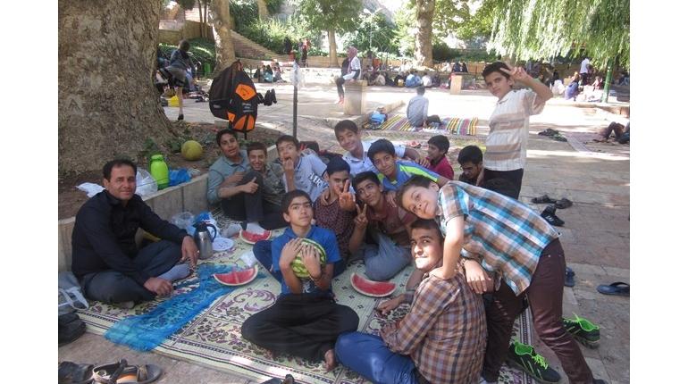 گزارش تصویری اردو فرهنگی تفریحی محلات