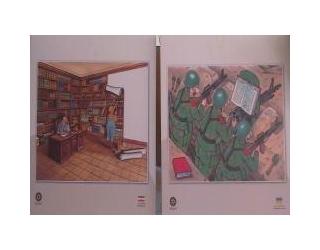 برگزاری نمایشگاه آثار کاریکاتوریست های ایران و جهان در جویم