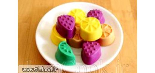 آموزش ساخت صابون عطری قالبی