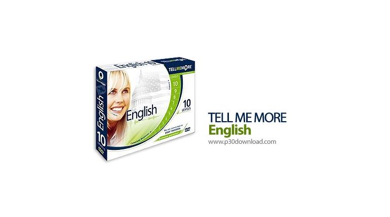 دانلود Tell Me More Performance 10 English 10 Levels - نرم افزار یادگیری زبان انگلیسی با بیشترین کارایی