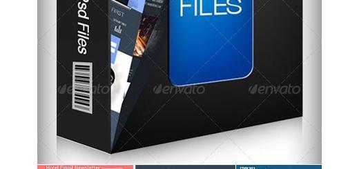 دانلود مجموعه تصاویر لایه باز قالب آماده خبرنامه های تجاری، فشن، گرافیکی و ...