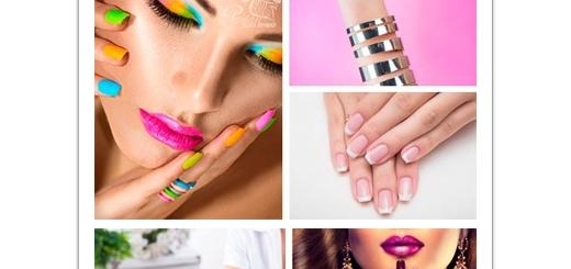 دانلود تصاویر با کیفیت مانیکور ناخن، طراحی ناخن، لاک