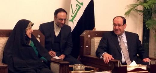 معصومه ابتکار با نخست وزیر عراق ملاقات کرد