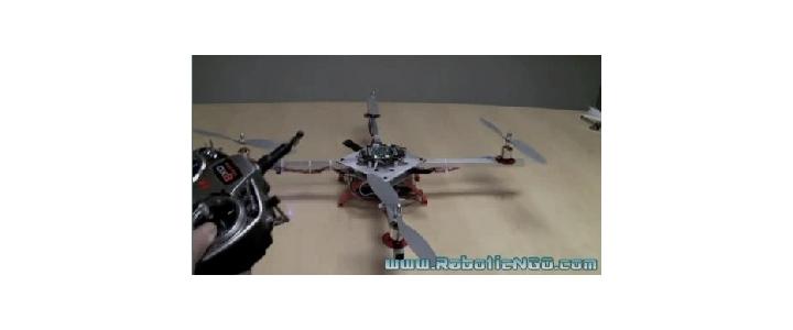 کلیپ آشنایی و آموزش ربات های پرنده (QuadRotor)__قسمت5