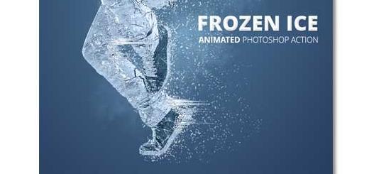 اکشن انیمیشن یخ زدن سوژه