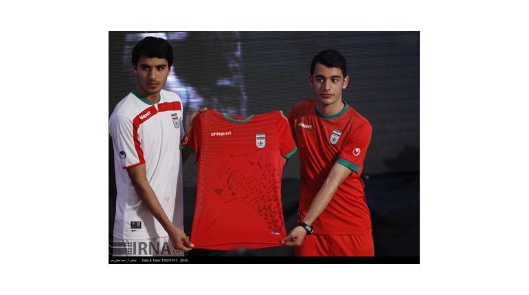 رونمایی از پیراهن تیم ملی در جام جهانی 2014 +عکس
