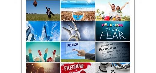 دانلود مجموعه تصاویر با کیفیت مفهوم آزادی، آزادی بیان، آزادی از ترس و ...