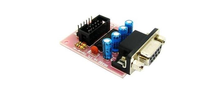 مبدل RS232 به TTL با تراشه MAX232