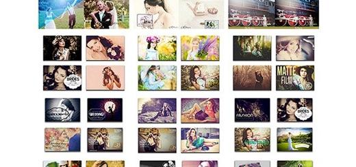 دانلود مجموعه افکت های فتوشاپ لایتروم برای عکاسی و تکسچر بوکه و گرادینت های متنوع