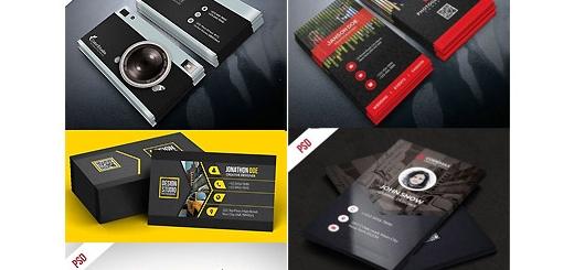 دانلود تصاویر لایه باز کارت ویزیت های حرفه ای با طرح های متنوع