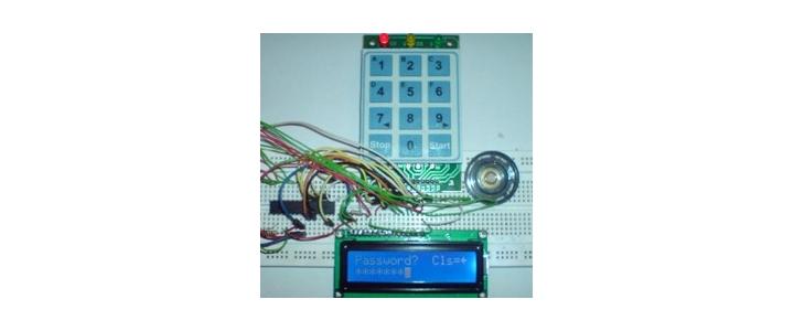 قفل رمز دیجیتال با AVR