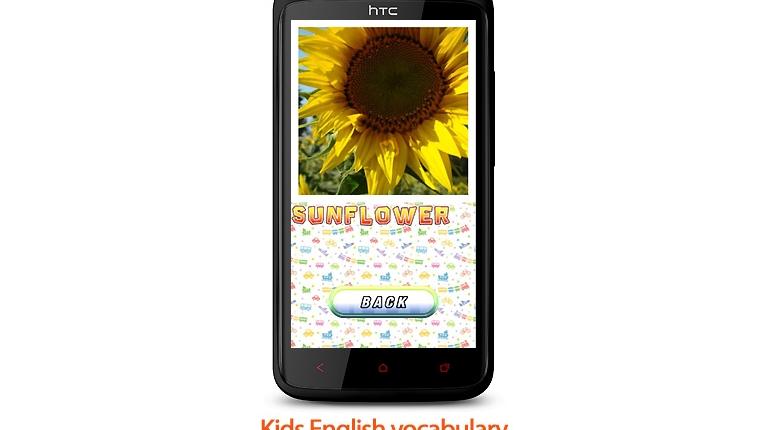 دانلود Kids English vocabulary - نرم افزار موبایل آموزش زبان انگلیسی به کودکان