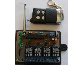 پروژه گیرنده ریموت کنترل 433 مگاهرتز با قابلیت لرنینگ