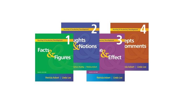 دانلود ویرایش چهارم کتاب های Reading & Vocabulary Development