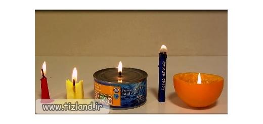 ساخت شمع اضطراری