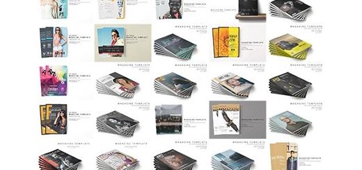دانلود 89 قالب لایه باز مجلات هنری، تبلیغاتی و تجاری متنوع