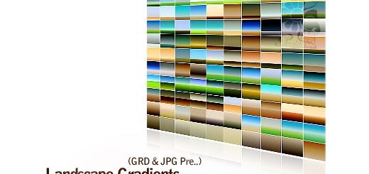 مجموعه گرادینت منظره طبیعى - Landscape Gradients