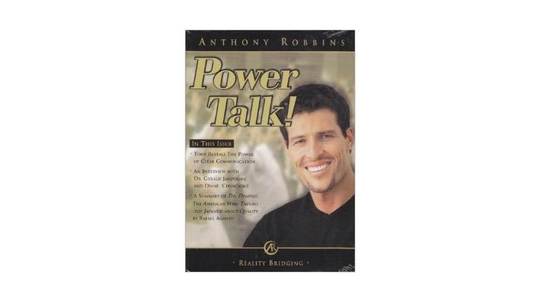 کتاب انگلیسی Power Talk انتونی رابینز