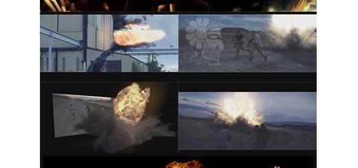 دانلود 39 فوتیج آماده آتش و انفجار برای ویدئو