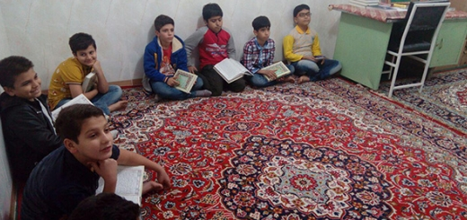 بحث آموزش قرآن - کودکان - 13 آذر 96